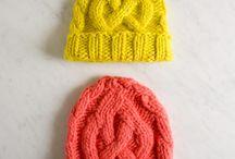· Knitting hats ·