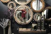 Steampunk/industrial decor