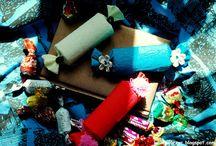 Pudełka prezentowe / Gift boxes / Najrozmaitsze rodzaje ręcznie wykonanych pudełeczek :D