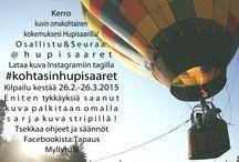 MunHupisaaret -kuvakisa / Kuukausittain uusiutuva kuvakisa. Katso teema ja ohjeet kuvasta.