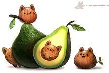 owocowe zwierzaki i nie tylko