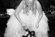 Wedding - skating photos