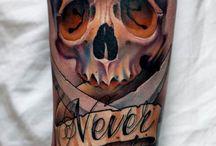 tattoo skull japon divers