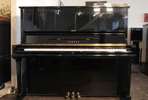Player Piano Systems / Player pianos are  self-playing pianos. These can be pianolas operated pneumatically with pipes or digital systems operted by solenoids beneath the key rail.