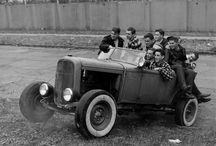 vintage hot rods / cars