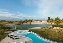 Villa Cayuco 33- Dominican Republic / This beautiful villa is located in the exclusive gated community of Cap Cana, in Punta Cana, a paradise that is blessed with a temperate year-round climate, light rainfall, and soft breezes. Its colorful coral reefs, calm crystalline waters and white-sand beaches are breathtaking.