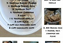 Bakin' and Eggcerpt Recipes / These are the recipes you can find on my blog.