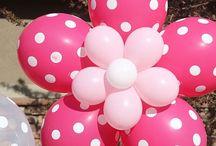 decoracion madre / decoración con globos fiesta de madre