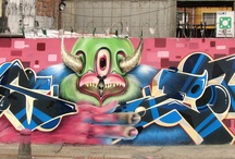 Gris One / Gris One #StreetArtist from Bogota Colombia