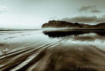 West Coast Seascapes, New Zealand / All Photographic Images  created by  Pete Rees