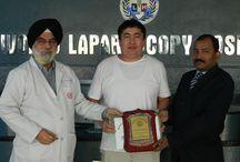 Laparoscopy Training Batch December 2014 at World Laparoscopy Hospital