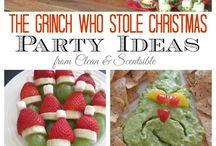 Grinch Christmas Party / by Tiffany Aguilera
