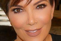 Kris Jenner hår