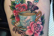 Mom Rose Tattoo