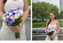 Blooms for the Bride and Groom / Vibrant and lovely floral arrangements for weddings