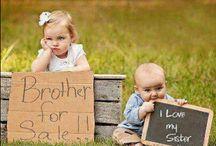 Un amore di fratello ( o sorella!) / Per un bambino l'arrivo del fratellino è sempre un momento delicato: invidie, gelosie, pianti sono all'ordine del giorno!   Ma a volte basta scherzarci sopra e tutto sembra meno difficile :-)