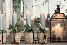 adventskranse og dekorationer