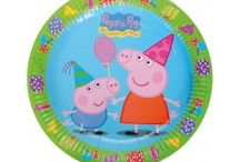 Peppa Pig / Party supplies for Peppa Pig  théme