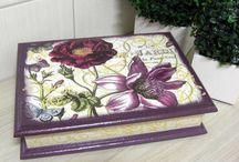 caixa mdf pintada