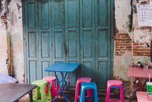 Old Thai houses