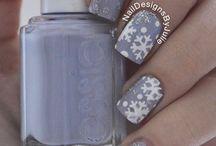 Winter nails!!!