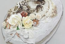Cottage Chic Craft Ideas / shabby chic or cottage chic craft ideas with chalk paints, flowers, repurposed items. / by Debbie Patterson (Laughngypsy.etsy.com)
