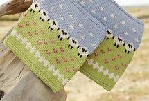 Tricot foulard