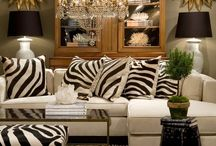 ⚫️ Zebra Pillow and Mirrors ⚫️ / Leading Supplier of Quality, Eco-harvested Zebra Skin Hides and Custom Ottomans to Interior Designers and Buyers Across the World. www.outsourcesol.com
