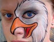 maľované tváre