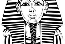 malby faraonů