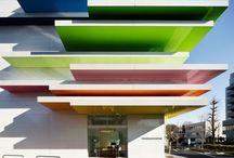 Architecture: Office Buildings / corporate architecture | office building | headquarters | bank |  / by Dejan Jovanovski