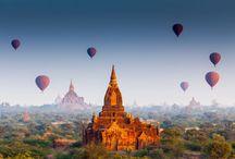 Inspire-se: Myanmar / Lar de milhares de monges budistas, a antiga Birmânia conserva o que há de mais genuíno no sudeste asiático, em meio a milhares de templos e pagodes dourados. Conhecer Myanmar profundamente exige uma dose de entrega e estar aberto para assimilar uma cultura que em um primeiro momento pode até parecer exótica, mas se revela totalmente enriquecedora.  Conheça o país com a gente no Grupo Especial Myanmar - http://bit.ly/GrupoMyanmar2016