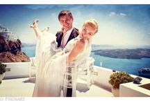 Santorini Wedding Ceremony @ Dana Villas Wedding Terrace