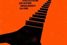 Saul Bass inspired film posters