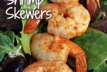Grilled or fried? / Nummy things to cook on the grill or in the infrared fryer  / by Bridget Tweedy