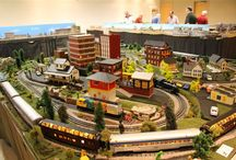 Petits trains, grandes passions / A great passion for model trains / #ModelTrain #Trainsminiatures #trains #rail #Familyactivities