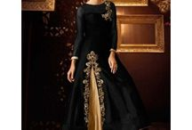 Classy Black Lehengas / If you want to look bold and appealing at any occasion, fall for these stunning black lehengas available at IndiaRush & make a statement.