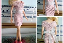 Doll's Dress Crochet Pattern