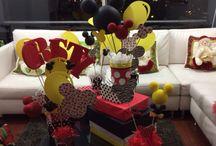 Minnie and Mickey party / Fiesta Cristy Araujo