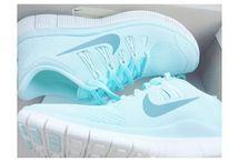 nikes and adidas