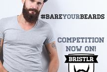 #BareYourBeard / Entrants from #competitions or fans baring their beards (or their love for beards).