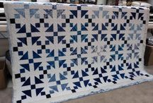 Quilted Blues / The last few quilts I've made are blue...looks like I'm not the only one quilting the blues.