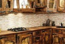 Кухни под старину.