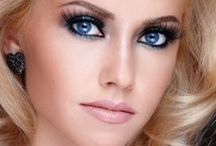 Make up blonde