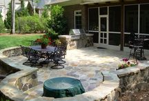 Patios / by Julie Abaray McCullough