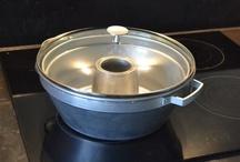 De Wonderpan / Met de wonderpan vbakt u cake, taarten en brood zonder oven! Net als vroeger op het fornuis.