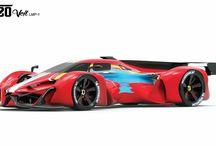 F120 Veil LMP-1  Michelin design challenge / Project development for the michelin design challenge 2017 by Carlos Frías