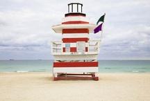 strandwachthuisje / strand