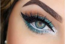 bright winter makeup