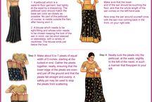 sarie draping